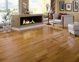 Brazilian Cherry Jatoba Engineered Hardwood Flooring Sample
