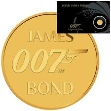 Tuvalu 2 Dollar 2020 James Bond 007™ in Coincard der Perth Mint - 0,5 gr Gold ST