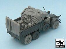 Black Dog 1/48 Krupp Protze Kfz.70 Accessories Set WWII (Tamiya 32534) T48039