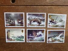 JERSEY 1984 100th ANNIV SEA RESCUE SET 6 MINT STAMPS