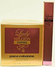 Lady Million Empire by Paco Rabanne  Perfume  50ml EDP Spray + FREE 10ml  NEW