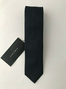 Details about  /Zara Man Braided Fabric Bolo Tie Mens Rope Necklace Black-Gray Size M NEW