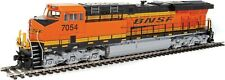HO Scale ES44 GEVO Locomotive w/Sound & DCC - BNSF #7054 - Walthers #910-20176