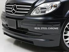 Mercedes Vito Viano W639 Chrome avant Calandre Set 2003-2010 Acier Inoxydable