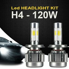 120W 12000lm COB LED Headlight H4 HB2 9003 Hi/low beams HID 6000K light Bulb  AU