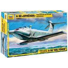 "ZVEZDA 7016 Model Kit ""Troop Carrier Ekranoplan A-90 ""ORLYONOK"""
