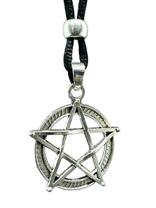 Pentacle Pendant Necklace Pentagram Witch Pagan Wicca Amulet Wiccan Jewellery