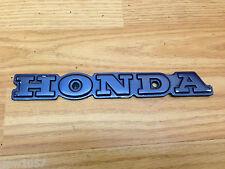 HONDA SILVERWING 1983 GL 650 Azul HONDA Placa