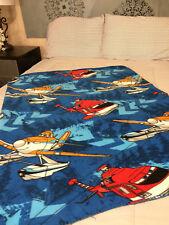 Disney Cars Planes Dusty Fleece Blanket NEW