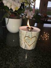 Schmelzlicht Kerzen Wachs Reste Dochthalter Glasfaser Lampen Docht Feuer In&out
