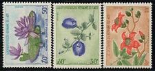 1974 LAOS N°263 A 265** SERIE COMPLETE FLEURS / FLOWERS COMPLETE SET MNH