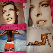 French ELLE Linda EVANGELISTA Alyssa MILLER swimsuit ed