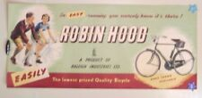 Fahrradplakat, Bicycle, A product of Raleigh Industries Robin Hood Plakat Poster