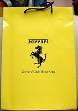 Ferrari Owners' Club 法拉利 車主香港分會 黃色紙袋(車身顏色)