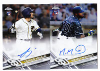 2017 Topps Chrome Manny Margot Auto Rookie Padres