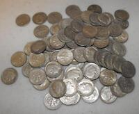 Roosevelt Dimes 1946-1964 , 90% Silver Coin Lot , Circulated, Choose How Many