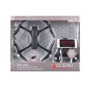 Ascend Aeronautics Premium HD Video Drone with Optical Flow Technology