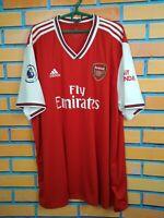 Arsenal Jersey 2019 2020 Home Size XXXL Shirt Football Soccer Adidas EH5637