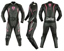 Lionstar Panther Ladies Motorbike Motorcycle Leather Racing Suit with CE Armours