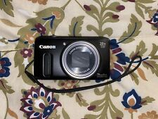 Canon PowerShot SX260 HS 12.1MP HD 1080p Camera 20x W/ Charger & Battery