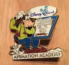 DisneyQuest Quest Animation Academy 2005 Goofy Disney Pin