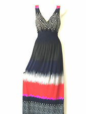 Women Summer Sleeveless Evening Party Beach Long Maxi Sundress V Neck Dress L 8