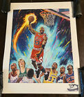 Michael Jordan poster Art Print Magic Johnson Larry Bird Karl Malone Air Jordans