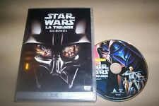 DVD STAR WARS LA TRILOGIE LES BONUS
