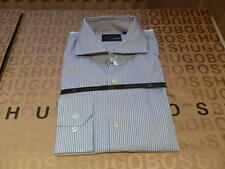 HUGO BOSS Regular Length Striped Formal Shirts for Men