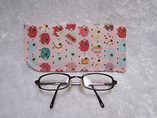 Jazberryz Padded Spectacle Glasses Soft Pouch *Sheep Pink New Handmade