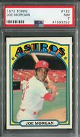 1972 Topps #132 Joe Morgan PSA 7 NM