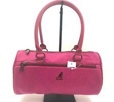Designer KANGOL Pink Nylon & Wool Doctors Handbag, NWOT