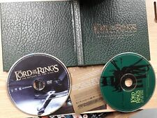 LORD OF THE RINGS THE RETURN OF THE KING CD DVD HOWARD SHORE RARE SOUNDTRACK