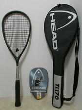 Head TI.170 Titanium/Graphite Squash Racquet-NEW STRINGS/GRIP & EUC