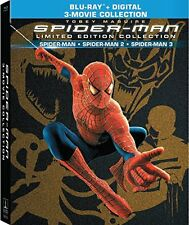Spider-Man Trilogy Limited Edition Collection (Blu-ray + digital hd) 3 movie