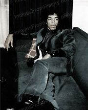 8x10 Print Jimi Hendrix Woodstock 1969 #Jh942