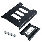 Premium Hard Metal 2.5 to 3.5 Bracket Disk Drive Dock Adapter Mounting Kit SSD