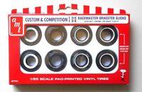 RACEMASTER DRAGSTER SLICKS AMT 1:25 CAR MODEL ACCESSORY PP001