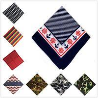 Fashion Unisex Sport 100% Cotton Scarf Headwrap Hip Hop Bandana Turban Headwear