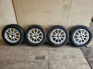 """Volvo V40 S40 Set Of 15"""" Alloy Stellar Alloy Wheels And Tyres"""