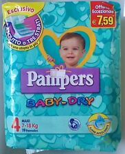 PAMPERS Baby-Dry 4°Mis. 7-18 kg 16 conf. 304 pannolini