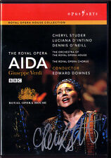 DVD Cheryl STUDER Signiert VERDI: AIDA D'INTINO O'NEILL Edward DOWNES MOSHINSKY