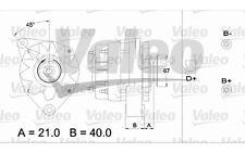 VALEO Alternador para CITROEN C15 BX LNA VISA PEUGEOT 205 104 TALBOT SAMBA 43335