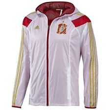 ADIDAS SPAIN WOVEN ANTHEM TRACK JACKET White/Red.