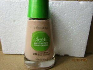 Clean Sensitive Liquid Foundation  by CoverGirl Pick Your Shade - 1 oz