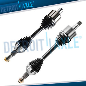 Pair(2) Front CV Axle Shaft Assembly for Chevy Pontiac Buick w/o Supercharged SS