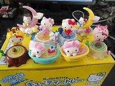 New 8pcs/set 2'' Hello kitty Anime action figure PVC Toys Cake decoration Gifts
