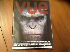 RARE PROMOTIONAL FILM MAGAZINE JUNE 2014. MINT . DAWN OF THE PLANET OF THE APES