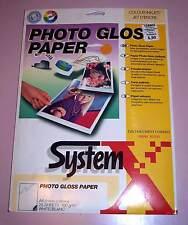 RANK XEROX photo brillant Papier DINA4 25 feuilles Imprimante jet d'encre NEUF