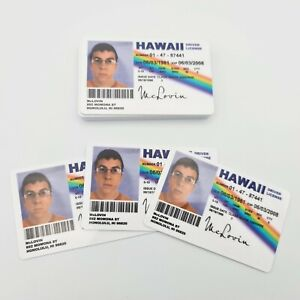 McLovin Superbad Novelty Driving License ID Card Replica (Film Prop) - FREEPOST